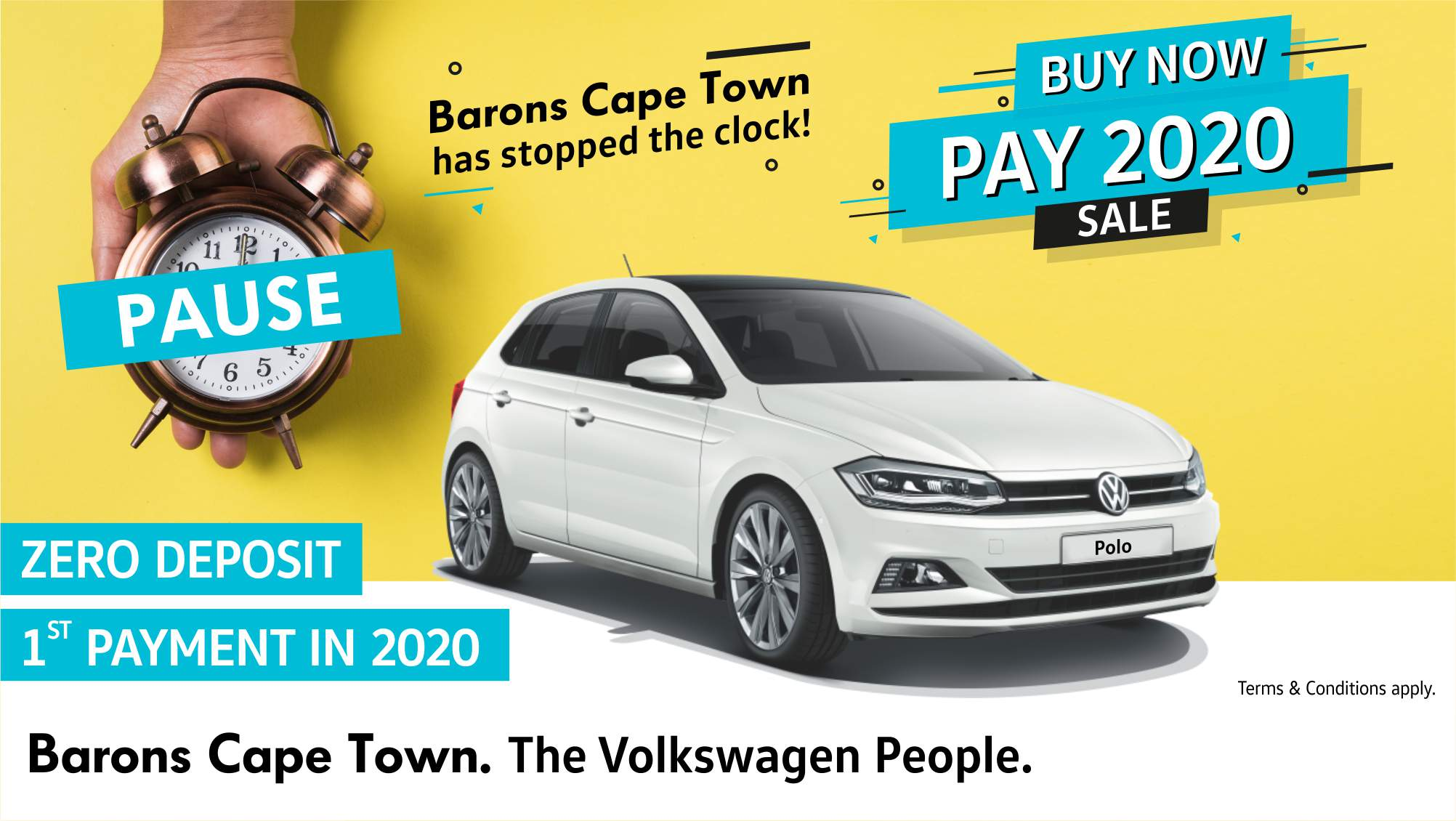 Barons Cape Town Buy now, pay 2020 Sale banner