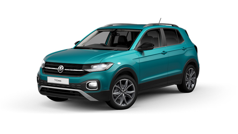 VW T-cross Teal at Barons