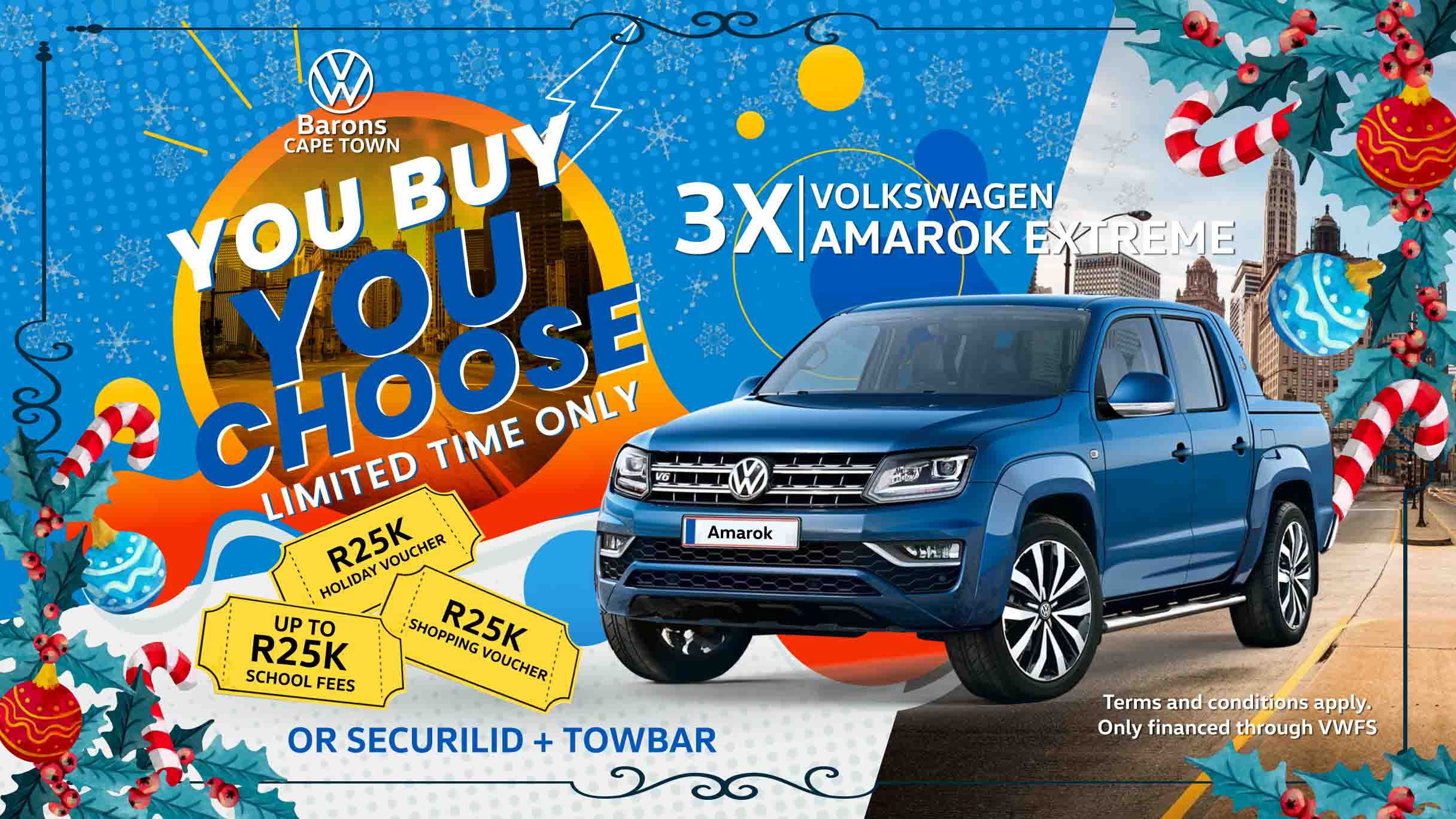 Festive offer on the Amarok at Barons Cape Town