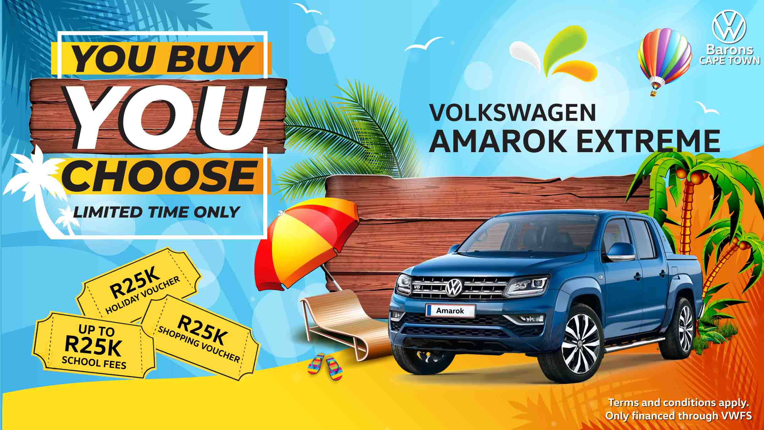 Barons Cape Town Amarok 2020 deal