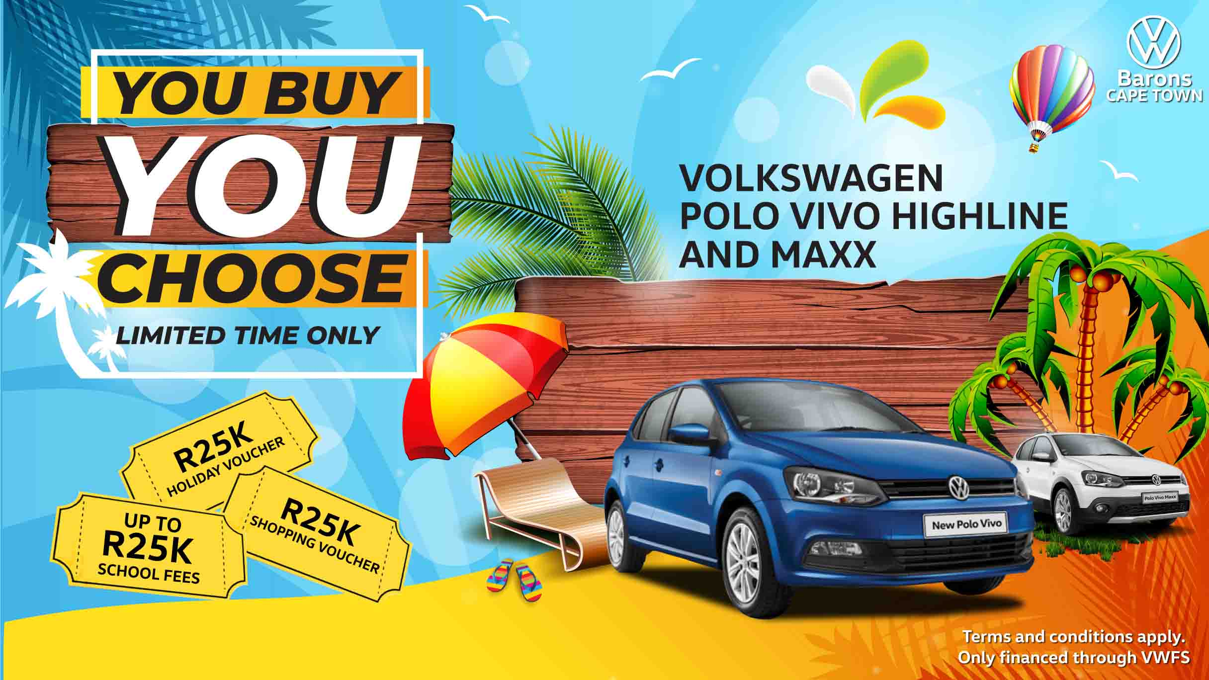 Polo Vivo highline and Maxx 2020 car offer