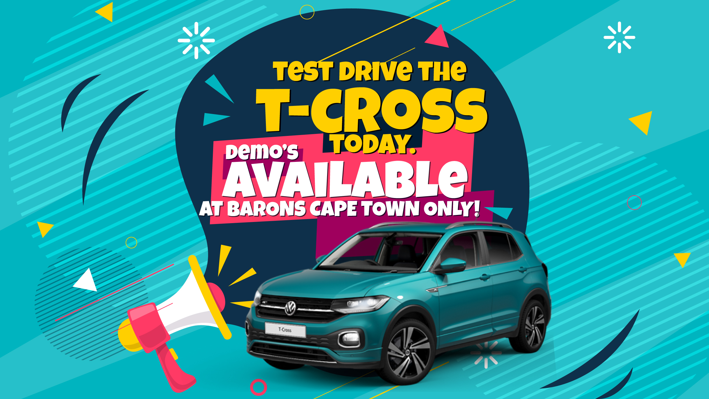 Drive the T-Cross from Barons Cape Town