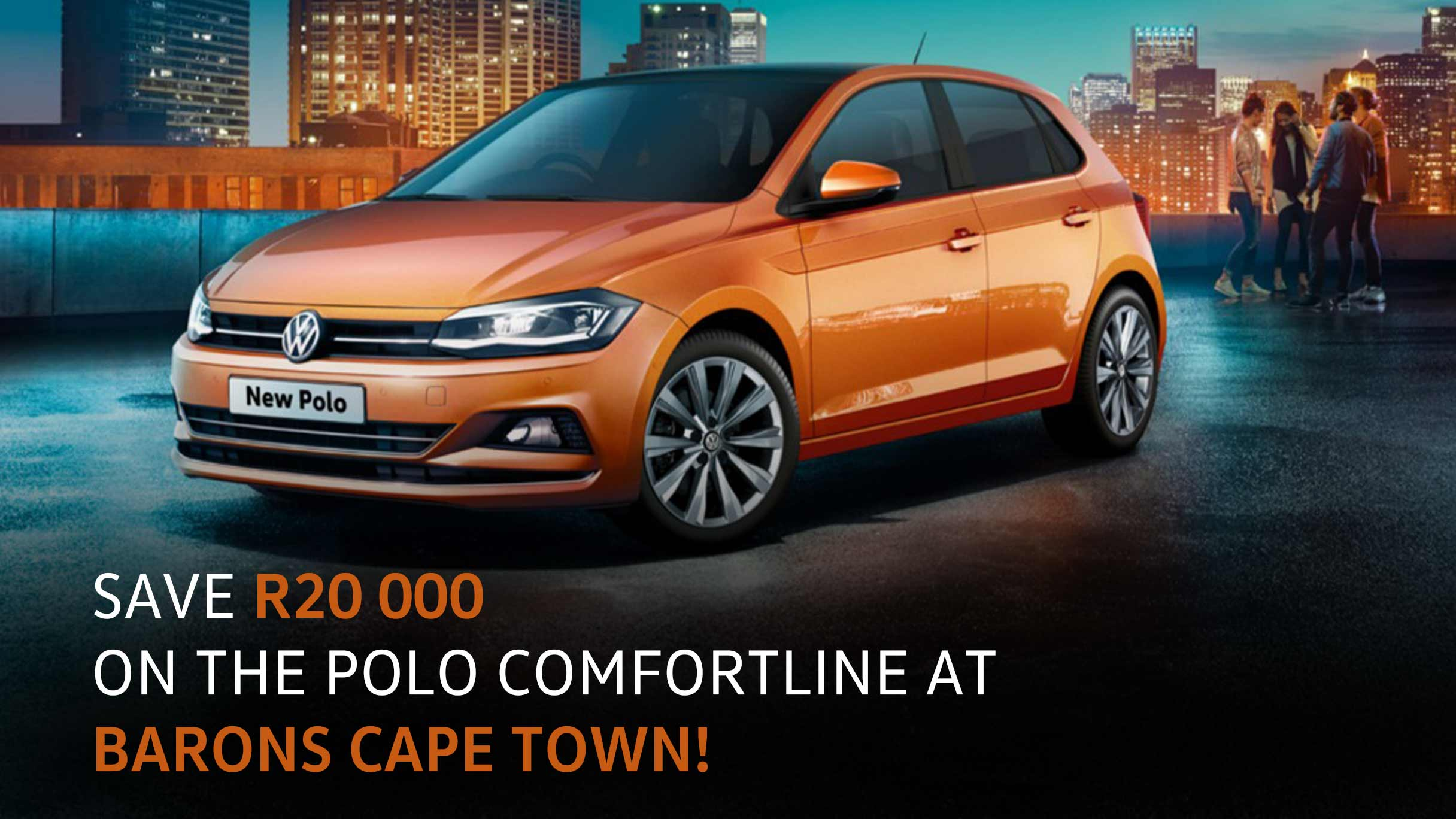 Barons Cape Town polo comfortline special image