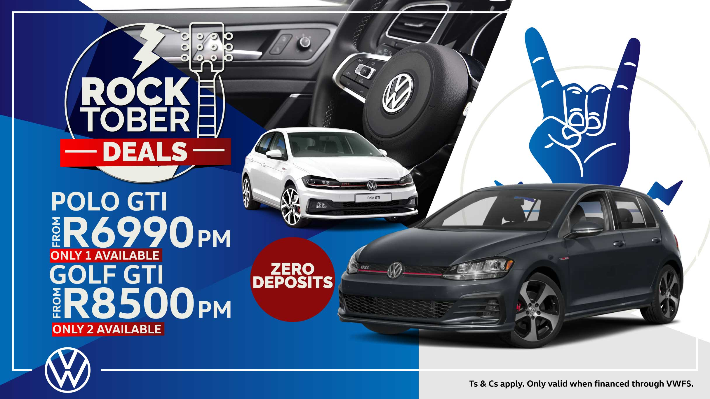 Polo and Golf Rocktober offer