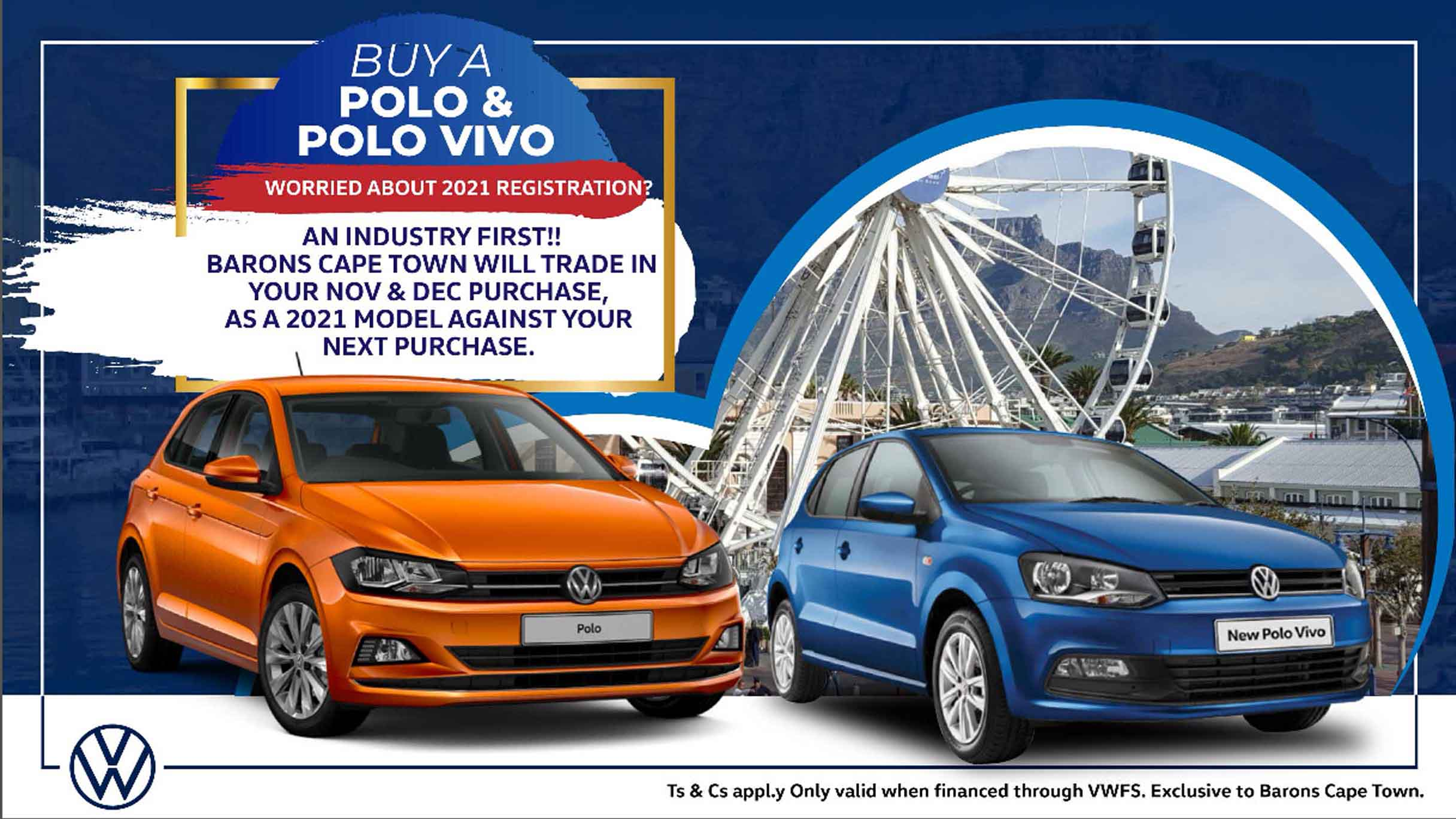 Trade-in offer at Barons Cape Town