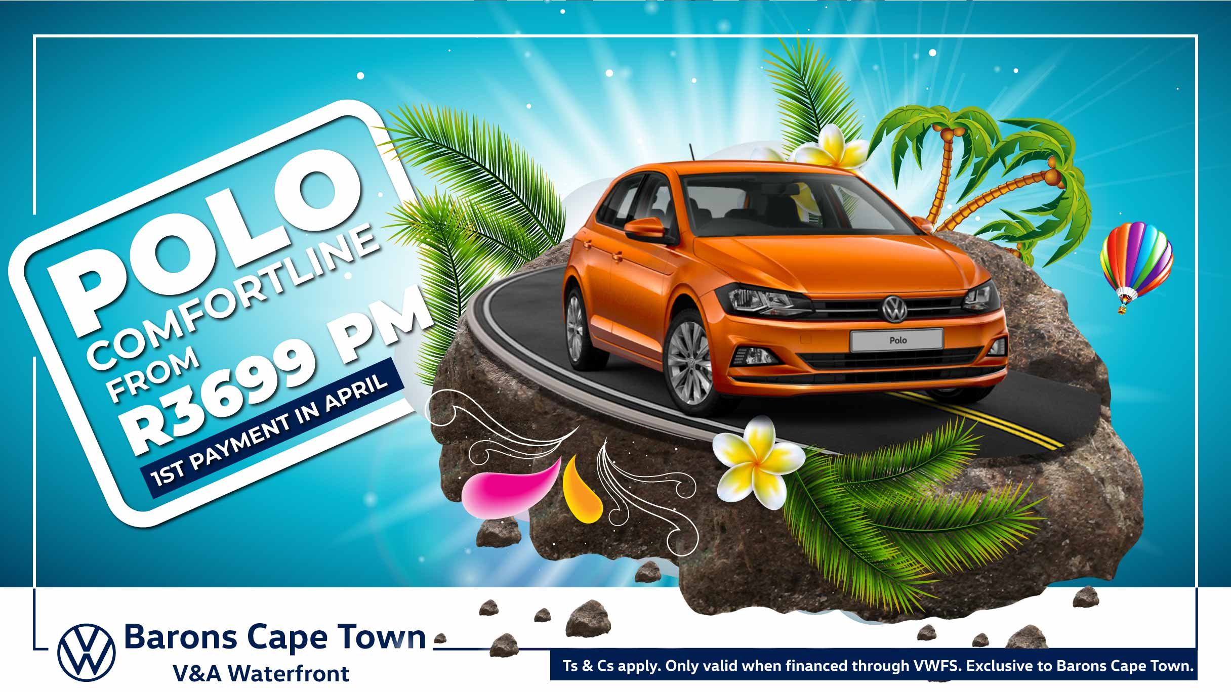 Polo Comfortline payment holiday offer