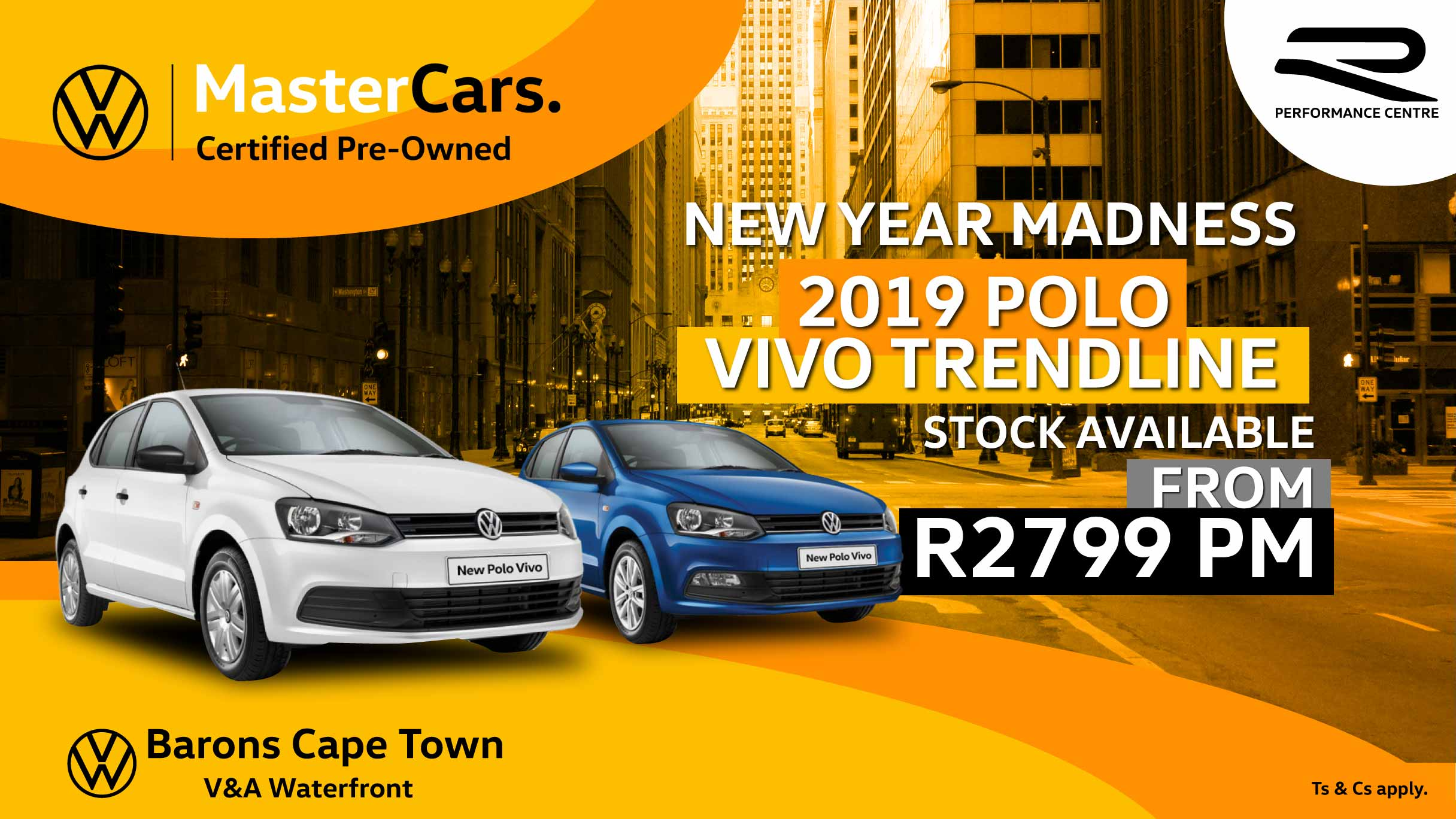 Polo Vivo MasterCars offers at Barons Cape Town