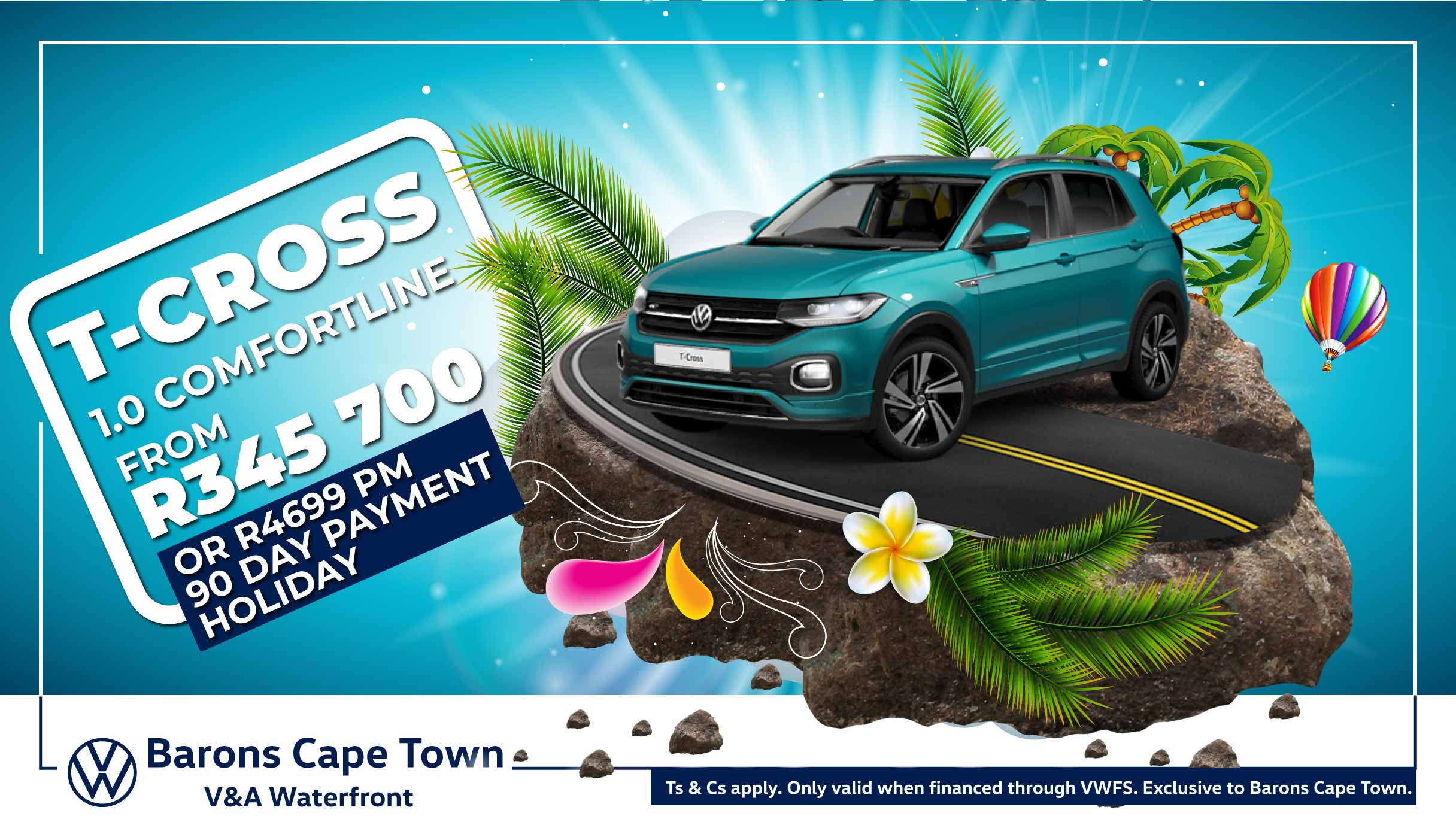 T-Cross Comfortline offer at Barons Cape Town