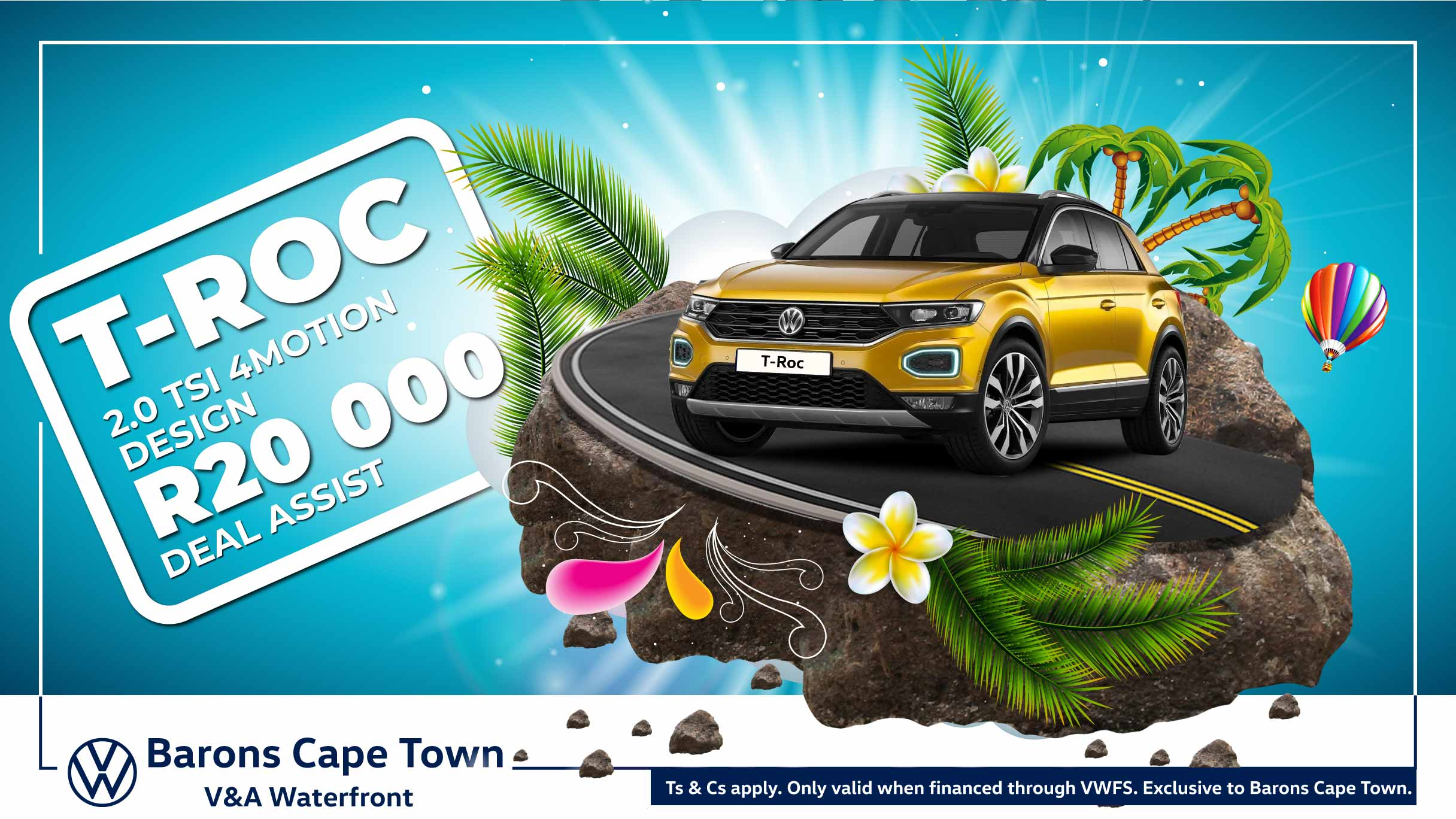VW T-Roc offer